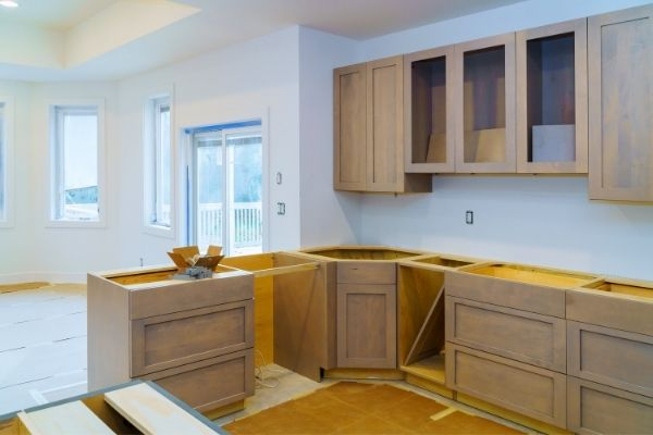 Kitchen cabinet installation in Flower Mound, TX image